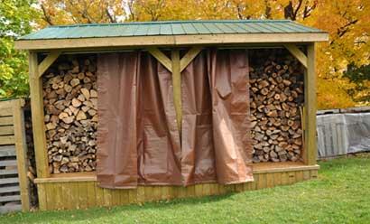 Etarp Ready Fit Wood Pile Coverings